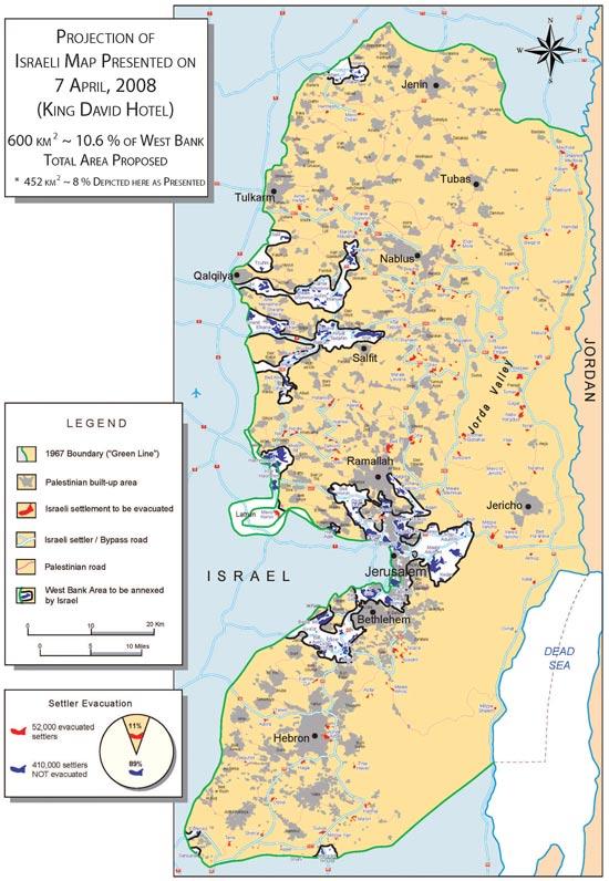 מפה הצעת הפלסטינים